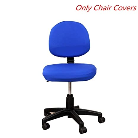 Fabulous Computer Office Chair Cover Universal Stretch Rotating Chair Cloth Cover Removable Split Style Elastic Easy Install Interior Design Ideas Apansoteloinfo
