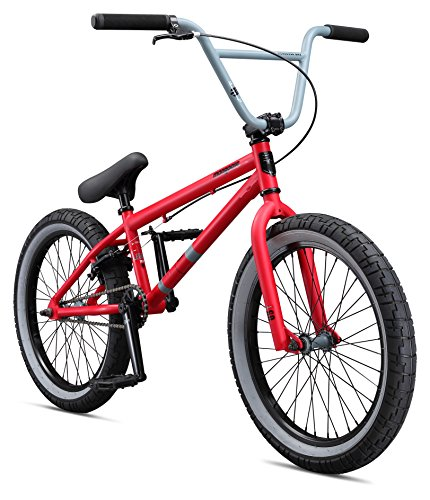 Mongoose Legion L60 Boy's Freestyle BMX Bike, 20-Inch Wheels - Freestyle Stem