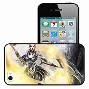 Personalized iPhone 4 4S Cell phone Case/Cover Skin League Of Legends Black