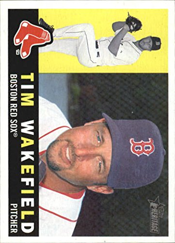 2009 Topps Heritage Baseball #280 Tim Wakefield Boston Red Sox