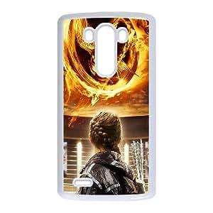 The Hunger Games LG G3 Cell Phone Case White CVXEYERTE34146 Customized DIY Cell Phone Case