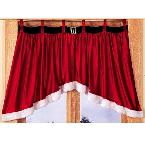 Kitchen Christmas Curtains