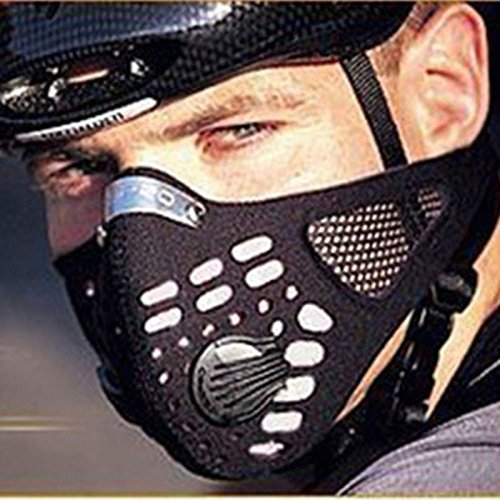 (Anti Dust Cycling Bicycle Bike Motorcycle Racing Ski Half Face Mask Filter)