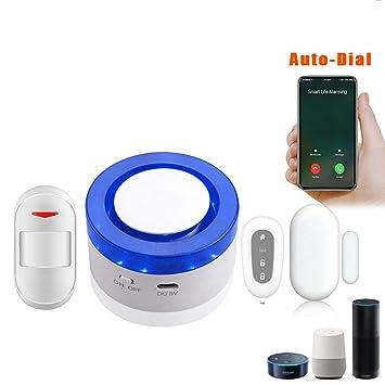 Alarma antirrobo Alarma estroboscópica Wi-Fi inteligente ...