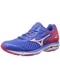 Mizuno 2016 SS Women Wave Rider 19 Fuji Marathon Running Sneaker Shoes J1GD160301