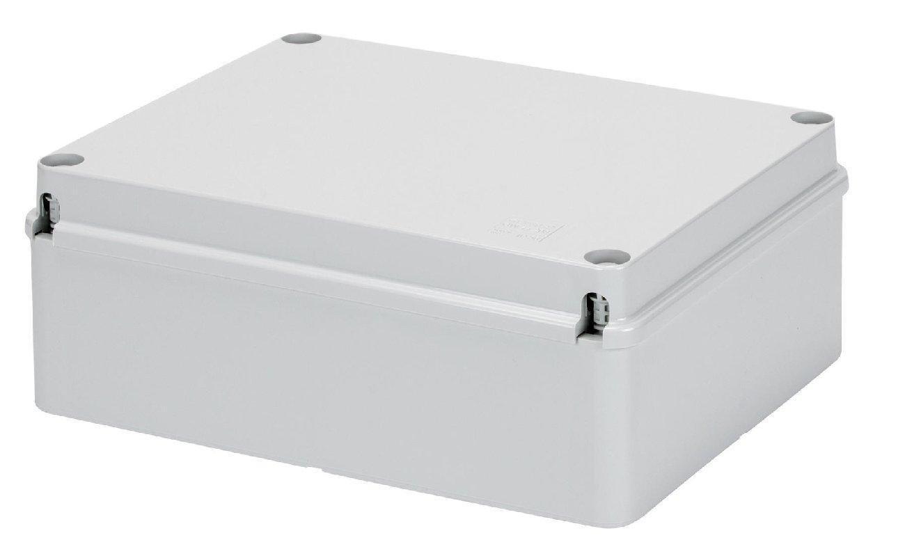 Gewiss GW44207 De plá stico caja de conexió n elé ctrica - Cuadro elé ctrico (Gris, 190 mm, 70 mm, 140 mm) 44 ce