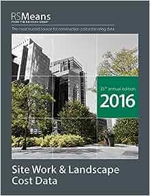 rsmeans site work & landscape cost