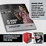 MUNIO Self Defense Kubaton Keychain with Ebook