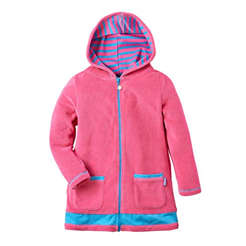 Pink Platinum Toddler Girls Hooded Terry Swim Cover Up