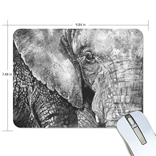 Ye Store Sumatran Elephant Lengthen Thickening of the Mouse Pad for Office Games