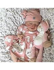 Baby Reborn Doll - 18in Baby Dolls That Look Real, Handmade Lifelike Lifelike Baby Doll - Children Kids Gift Set