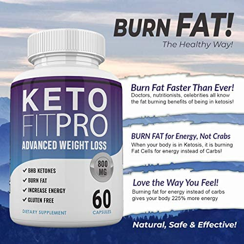 Keto Fit Pro Boost - Advanced Weight Loss with Metobolic Ketosis Support - 60 Capsules - 1 Month Supply 6