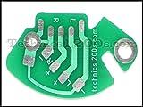 Technics 1200 1210 RCA Phono PCB Printed Circuit Board (Internal Ground)