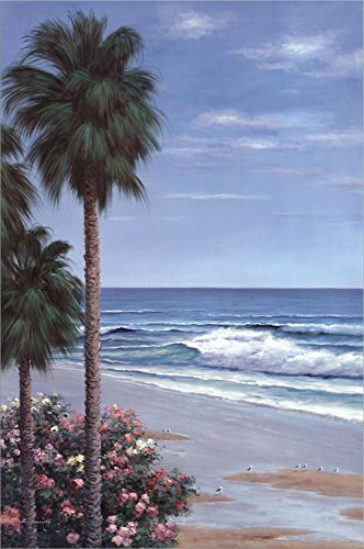 Beach Place by Diane Romanello Double Sided Laminate, 24 x 3