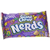Wonka Nerds Giant Chewy Candies, 1.8-Ounce Bag (Pack of 24)