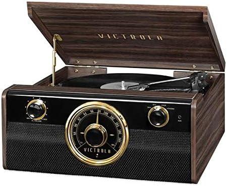 Victrola Empire 6-In-1 Tocadiscos Bluetooth: Amazon.es ...