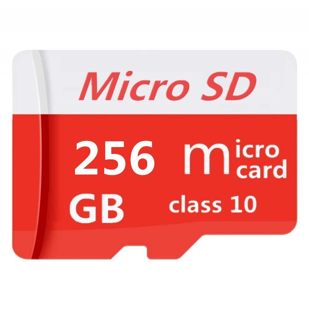 Micro SD Card 256GB High Speed Class 10 Memory Micro SD SDXC Card with Adapter by Geneircc