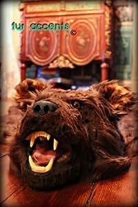 Bear Floor Rug (Brown) Halloween Decor Prop