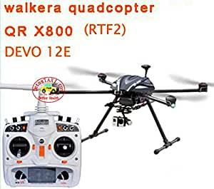 (THIS ITEM MUST HAVE PHONE NUMBER FOR DELIVERY SERVICE)Walkera GPS QR X800 Carbon Fiber FPV Professional Aerial Photography DRONE RTF2 & DEVO 12E & Aluminium Case NEW ARRIVAL, ORDER NOW!