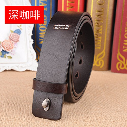 Caliente de la venta LLZPD Cinturón Hebilla macho lisa cinturón de la boda b7247545c5d6