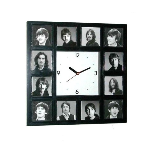The Beatles through the years Clock