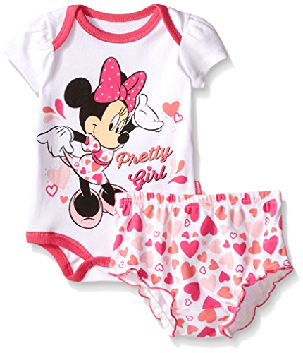 UPC 024054391754, Disney Baby Minnie Mouse Soft Diaper Cover Set, Pink, 6-9 Months