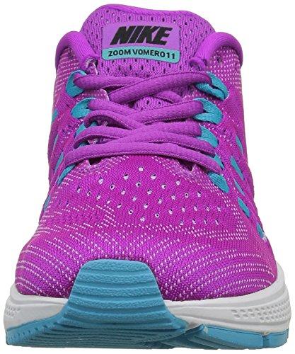Nike Wmns Air Zoom Vomero 11, Zapatillas de Running para Mujer Azul (Hypr Vlt / Blk-Gmm Bl-Urbn Llc)