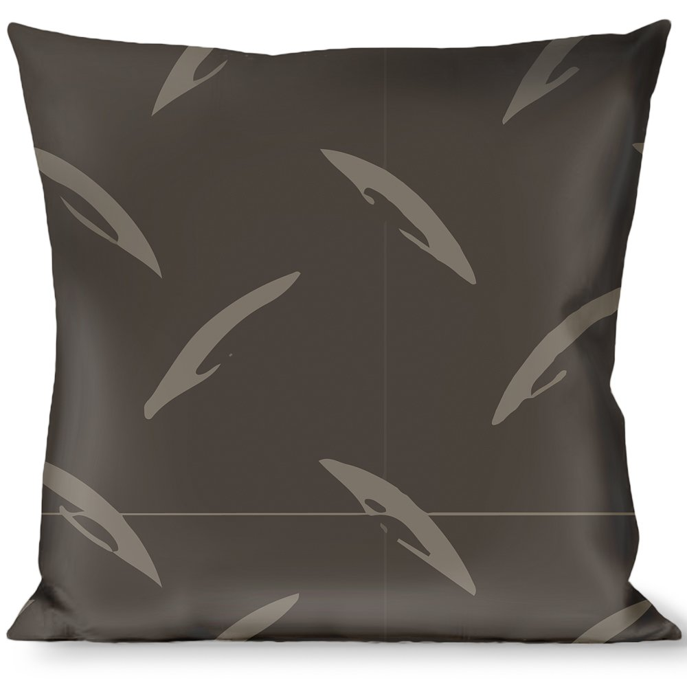 Amazon.com: Pillow Decorative Throw Diamond Plate Grays ...