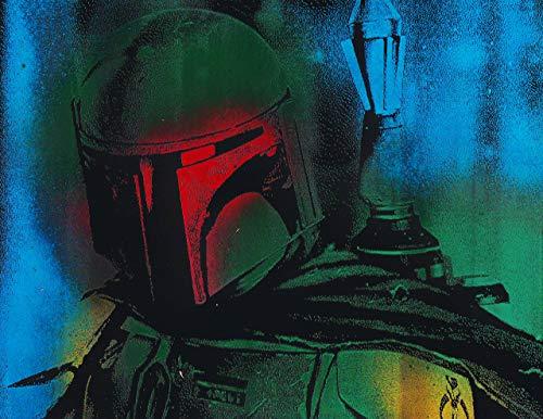 Boba Fett Metal Painting Poster Star Wars Spray Paint ()