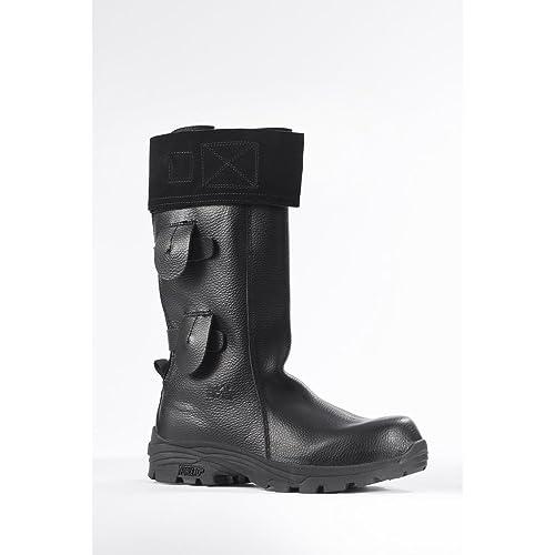 Rock Fall Vulcan RF7000 Flame Retardant High Leg Foundry Welders Safety Boots (US 6)
