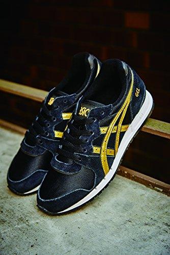 Onitsuka Tiger Damen Sneaker Schwarz (Black/rich Gold)