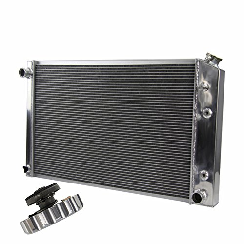 Chevy Gmc C/k Series - 1973-91 Chevy /GMC C/K Series Models 3 Row Triple Core Aluminum Radiator w/ Billet Cap
