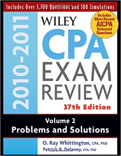 Wiley cpa examination review problems and solutions volume 2 wiley cpa examination review problems and solutions volume 2 volume 2 edition fandeluxe Choice Image