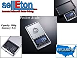 Selleton Pocket Scale / 0.1 G To 1,000 G / Portable Lcd Display