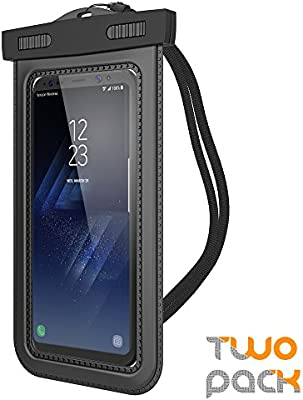 "(2Pack) Universal Waterproof Case, Trianium Cellphone Dry Bag Pouch w/ IPX8 for iPhone X 8 7 6s 6 Plus, SE 5s 5c 5, Galaxy s9 s8 s7 s6 Edge, Note 5 4,LG G6 G5,HTC 10,Nokia, Pixel up to 6.0"" Diagonal - 10157046 , B06WWJVR4G , 285_B06WWJVR4G , 396989 , 2Pack-Universal-Waterproof-Case-Trianium-Cellphone-Dry-Bag-Pouch-w-IPX8-for-iPhone-X-8-7-6s-6-Plus-SE-5s-5c-5-Galaxy-s9-s8-s7-s6-Edge-Note-5-4LG-G6-G5HTC-10Nokia-Pixel-up-to-6.0-Diagonal-285_B06WWJVR4G , f"