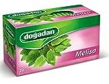 Dogadan Melissa Herbal Tea, 3 Pack (Each 20 Tea Bags x 3) Review