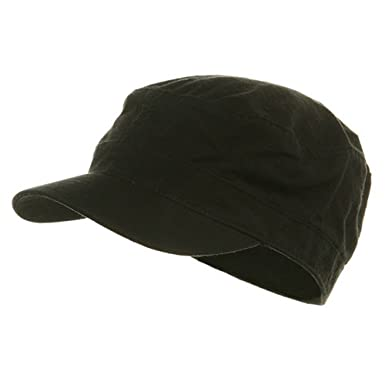 fitted cotton ripstop army cap black 2xl baseball caps xl