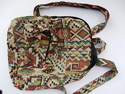 Ariyas Thaishop, Borsa a zainetto donna Multicolore multicolore