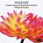 WALTER KLEIN - MOZART:  COMPLETE VARI...