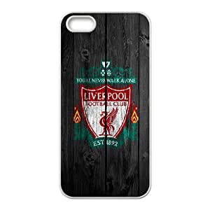 iPhone 5,5S Custom Cell PhoneCase Liverpool FC Logo Case Cover LWFF34567