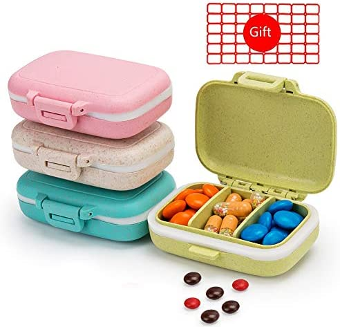 Removable Compartments Waterproof Organizer Supplements product image