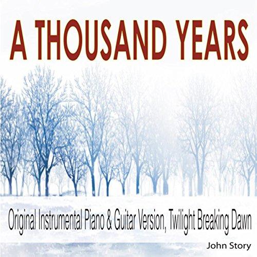 Amazon.com: A Thousand Years: Instrumental Piano & Guitar