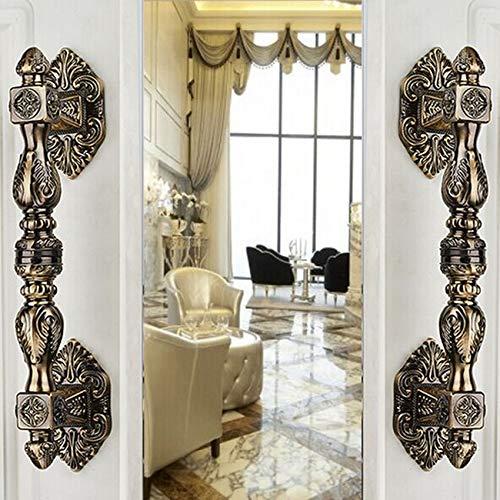 350mm vintage fashion europe classics style big gate door handles antique bronze wooden/galss door pulls handle door fitting by Kasuki (Image #1)