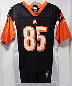 "Reebok Cincinnati Bengals ""Chad Ochocinco"" Size: Youth XL (18-20) - Preowned: Great For Mancave Display And Football Decor Or Everyday Use (Free Shipping)"