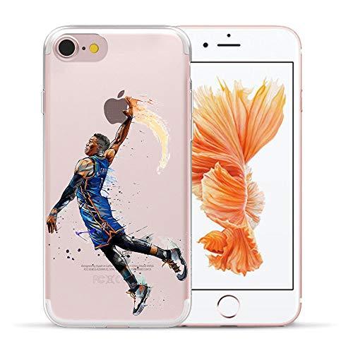 1 piece HryCase NBA Star Basketball Kobe Jordan 23 James Print Matte Hard Plastic Case Cover For Apple iPhone 8 6 6S 7 Plus 5 5S X SE
