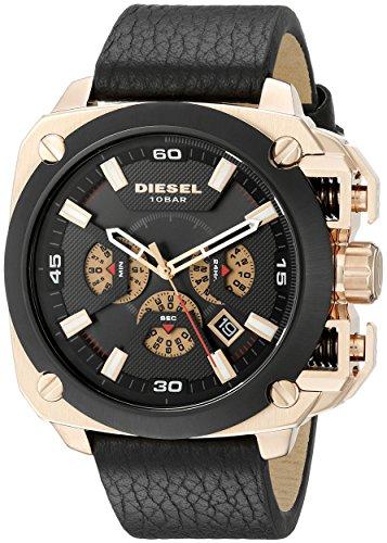 Diesel Men's DZ7346 Analog Display Analog Quartz Black Watch