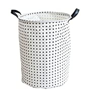Pauwer Large Storage Bin 13.7 x15.7  Fabric Toy Box/Toy Storage/Toy Organizer for Boys and Girls - Kids Laundry Basket/Nursery Hamper (Plus) …