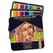 Color Pencils Prisma Color Premier Colored Pencils 48 Soft Core Assorted Arts Crafts New Prismacolor Soft Core 48-Count Educational Writing & Correction Wooden Colored Pencils