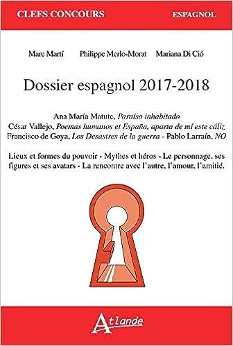 Dossier espagnol 2017-2018