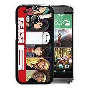 Popular Custom Designed Cover Case With Big Hiro 6 15 Black For HTC ONE M8 Phone Case